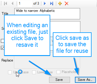 conversion file save as
